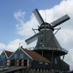 Vaarimpressie Kapitein Rob Rondvaart Sneek - bezoek aan molen De Rat in IJlst